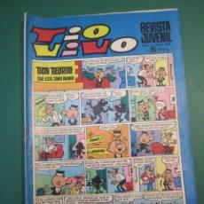 Tebeos: TIO VIVO (1961, BRUGUERA) 398 · 21-X-1968 · TIO VIVO. Lote 160546250