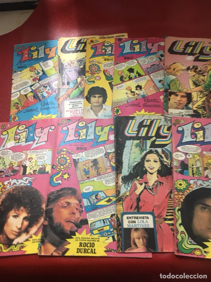 LYLY LOTE 9 TBO BRUGUERA CON POSTER (Tebeos y Comics - Bruguera - Lily)