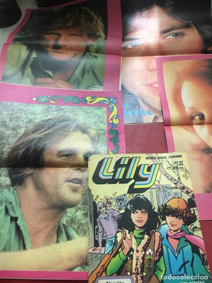 Tebeos: LYLY lote 9 TBO Bruguera con poster - Foto 3 - 160583404