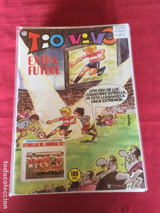 BRUGUERA TIO VIVO EXTRA FUTBOL BUEN ESTADO (Tebeos y Comics - Bruguera - Tio Vivo)