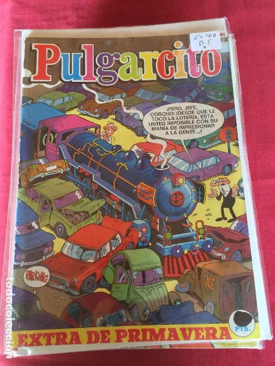 BRUGUERA PULGARCITO EXTRA DE PRIMAVERA BUEN ESTADO REF.EX1 (Tebeos y Comics - Bruguera - Pulgarcito)