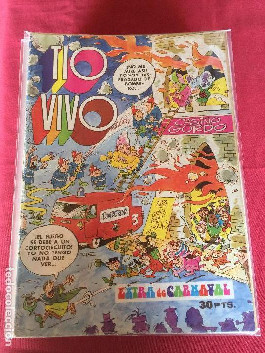 BRUGUERA TIO VIVO EXTRA DE CARNAVAL NORMAL ESTADO REF.EX1 (Tebeos y Comics - Bruguera - Tio Vivo)