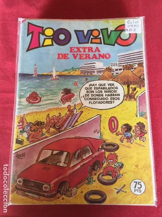 BRUGUERA TIO VIVO EXTRA VERANO 1980 BUEN ESTADO REF.EX1 (Tebeos y Comics - Bruguera - Tio Vivo)