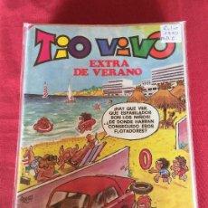 Tebeos: BRUGUERA TIO VIVO EXTRA VERANO 1980 BUEN ESTADO REF.EX1. Lote 160673538