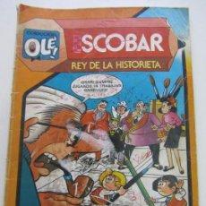 Tebeos: COLECCION OLE # 291 - ESCOBAR REY DE LA HISTORIETA BRUGUERA CX11. Lote 160773206