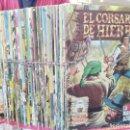 Tebeos: EL CORSARIO DE HIERRO, EDICIÓN HISTÓRICA - 58 NÚMEROS, COLECCIÓN COMPLETA A FALTA DEL Nº 57 - ED. B. Lote 160945218
