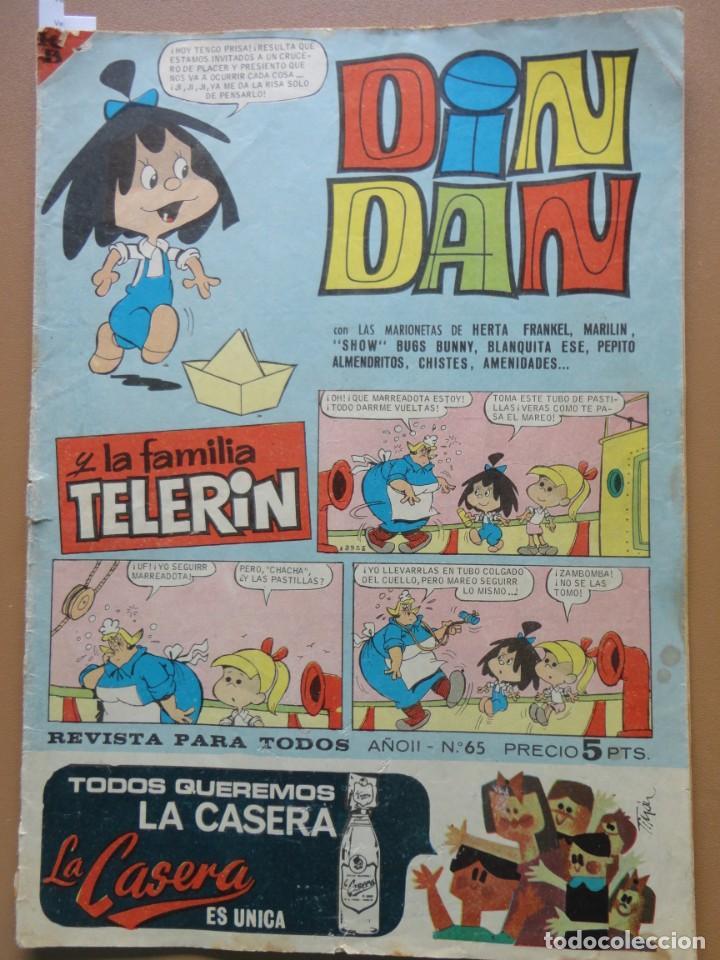 DIN DAN Nº-65 (Tebeos y Comics - Bruguera - Din Dan)