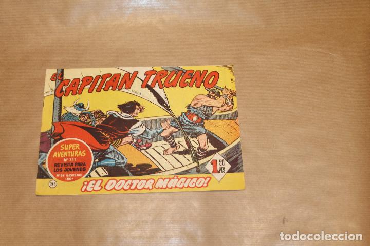 EL CAPITÁN TRUENO Nº 213, EDITORIAL BRUGUERA (Tebeos y Comics - Bruguera - Capitán Trueno)