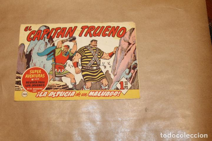 EL CAPITÁN TRUENO Nº 243, EDITORIAL BRUGUERA (Tebeos y Comics - Bruguera - Capitán Trueno)