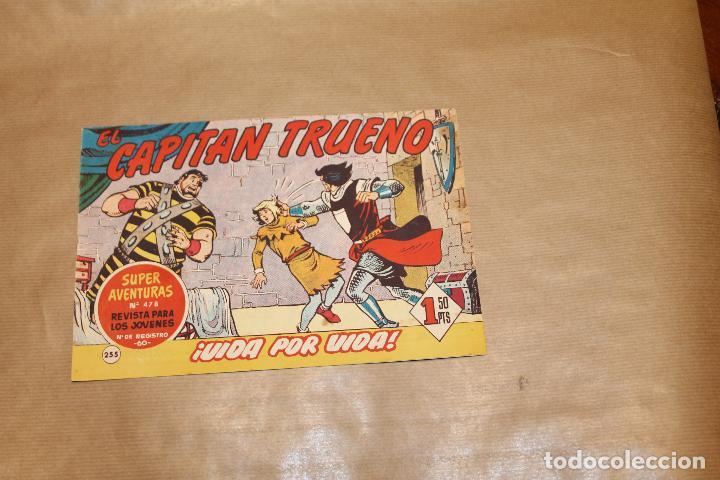 EL CAPITÁN TRUENO Nº 255, EDITORIAL BRUGUERA (Tebeos y Comics - Bruguera - Capitán Trueno)