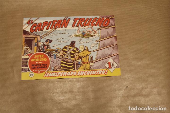 EL CAPITÁN TRUENO Nº 318, EDITORIAL BRUGUERA (Tebeos y Comics - Bruguera - Capitán Trueno)