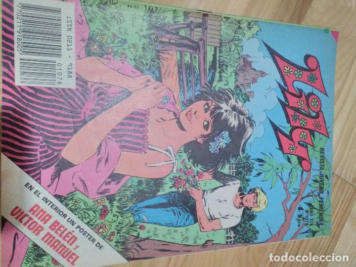 COMIC TEBEO BRUGUERA LILY N 1078 CON POSTER (Tebeos y Comics - Bruguera - Lily)