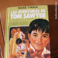 Tebeos: LIBRO DE BRUGUERA LAS AVENTURAS DE TOM SAWYER AÑO 1985 , 255 PAGINAS. Lote 161054674