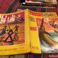 Tebeos: TRUENO COLOR - ALBUM TRUENO - Nº 24. SINGULAR ABORDAJE. - BRUGUERA. 1972. Lote 161144958