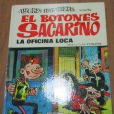 Tebeos: ALEGRES HISTORIETAS Nº 22, EL BOTONES SACARINO, LA OFICINA LOCA, BRUGUERA, 1ª EDICIÓN 1973. Lote 161168890