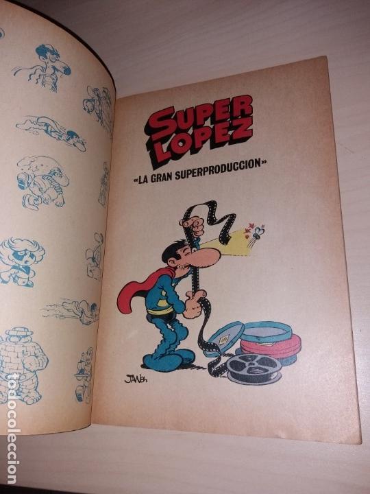Tebeos: SUPER LÓPEZ - BRUGUERA OLÉ - SEGUNDA EDICIÓN 1986 - Foto 2 - 135608142
