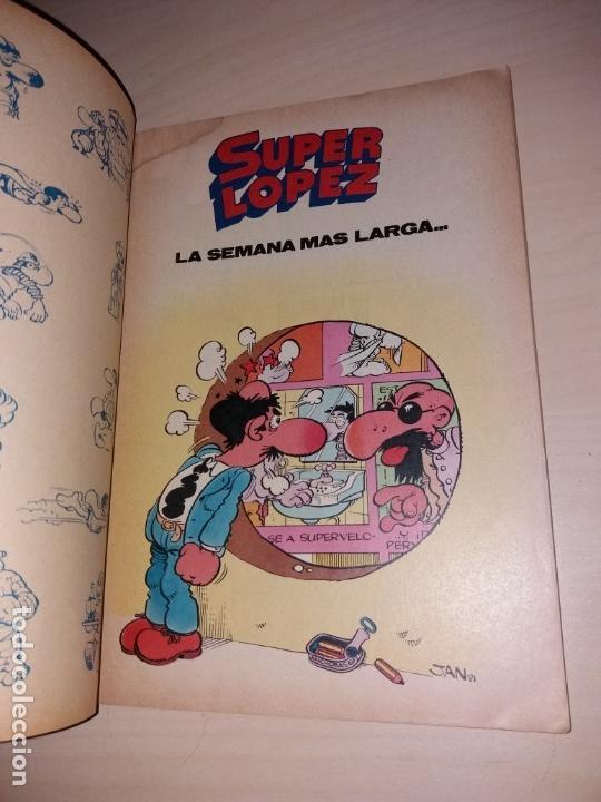 Tebeos: SUPER LÓPEZ - BRUGUERA OLÉ - SEGUNDA EDICIÓN 1986 - Foto 6 - 135608142