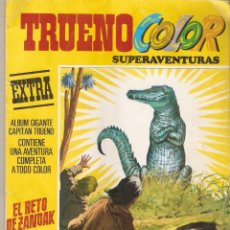 Tebeos: TRUENO COLOR SUPERAVENTURAS 1978 EXTRA Nº 7 EL RETO DE ZANDAK ALBUM GIGANTE AMARILLO 3ª EPOCA MIRA !. Lote 161275730