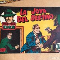 Tebeos: INSPECTOR DAN Nº 10 BRUGUERA 1951 - ORIGINAL COMO NUEVO. Lote 161295494