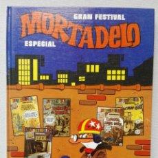 Tebeos: COMIC MORTADELO GRAN FESTIVAL ESPECIAL NÚMERO 1. Lote 161401422