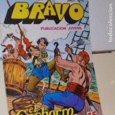 Tebeos: BRAVO AÑO 1 Nº 71 EL CACHORRO Nº 36 LOS BUITRES DEL CARIBE - BRUGUERA -. Lote 161402962