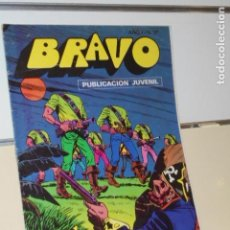 Tebeos: BRAVO AÑO 1 Nº 37 EL CACHORRO Nº 19 EL HOMBRE SIN CABEZA - BRUGUERA -. Lote 161404298