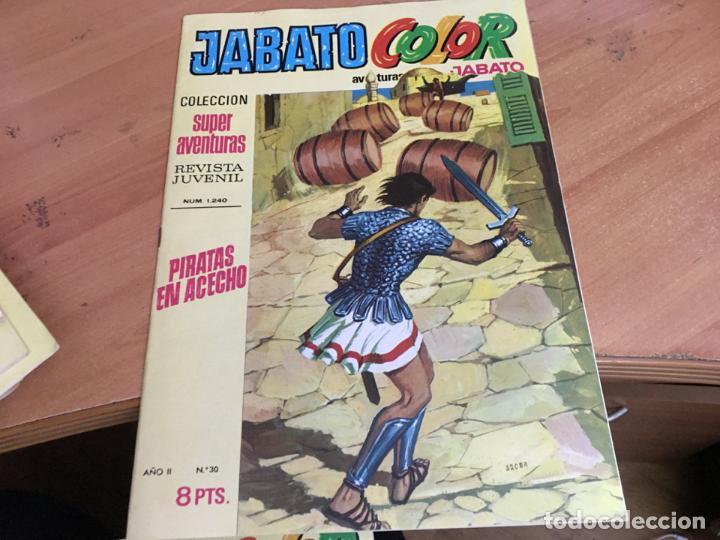 Tebeos: JABATO COLOR PRIMERA EDICION EPOCA LOTE Nº 1 AL 31 . MUY BUEN ESTADO (BRUGUERA) (COIM27) - Foto 3 - 161409306