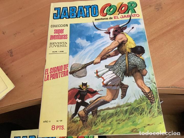 Tebeos: JABATO COLOR PRIMERA EDICION EPOCA LOTE Nº 1 AL 31 . MUY BUEN ESTADO (BRUGUERA) (COIM27) - Foto 4 - 161409306