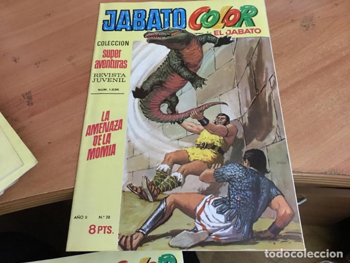 Tebeos: JABATO COLOR PRIMERA EDICION EPOCA LOTE Nº 1 AL 31 . MUY BUEN ESTADO (BRUGUERA) (COIM27) - Foto 5 - 161409306