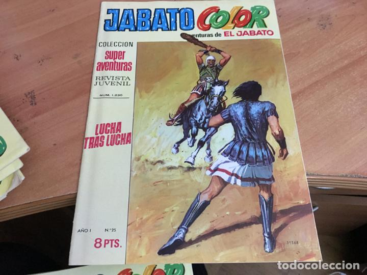 Tebeos: JABATO COLOR PRIMERA EDICION EPOCA LOTE Nº 1 AL 31 . MUY BUEN ESTADO (BRUGUERA) (COIM27) - Foto 9 - 161409306