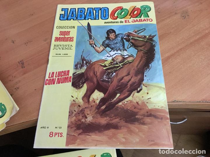 Tebeos: JABATO COLOR PRIMERA EDICION EPOCA LOTE Nº 1 AL 31 . MUY BUEN ESTADO (BRUGUERA) (COIM27) - Foto 10 - 161409306