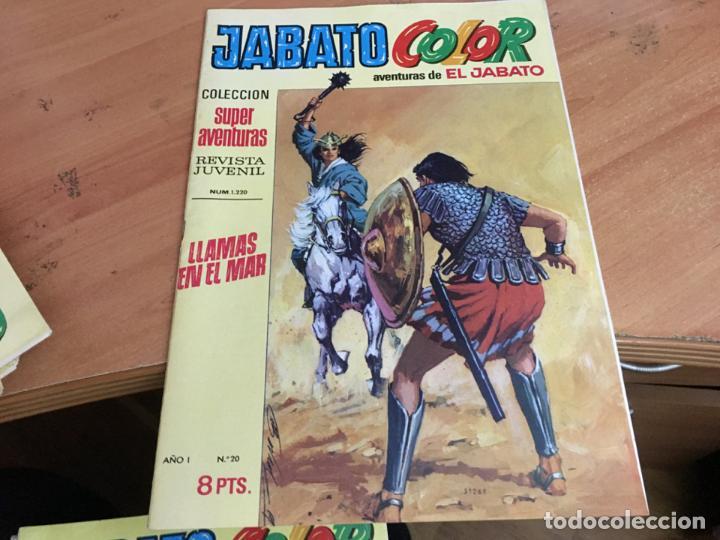 Tebeos: JABATO COLOR PRIMERA EDICION EPOCA LOTE Nº 1 AL 31 . MUY BUEN ESTADO (BRUGUERA) (COIM27) - Foto 12 - 161409306