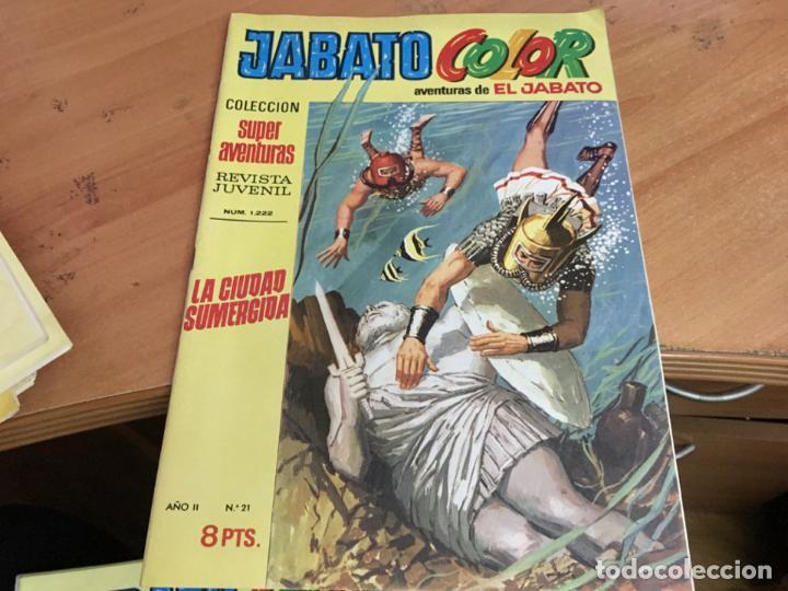 Tebeos: JABATO COLOR PRIMERA EDICION EPOCA LOTE Nº 1 AL 31 . MUY BUEN ESTADO (BRUGUERA) (COIM27) - Foto 13 - 161409306