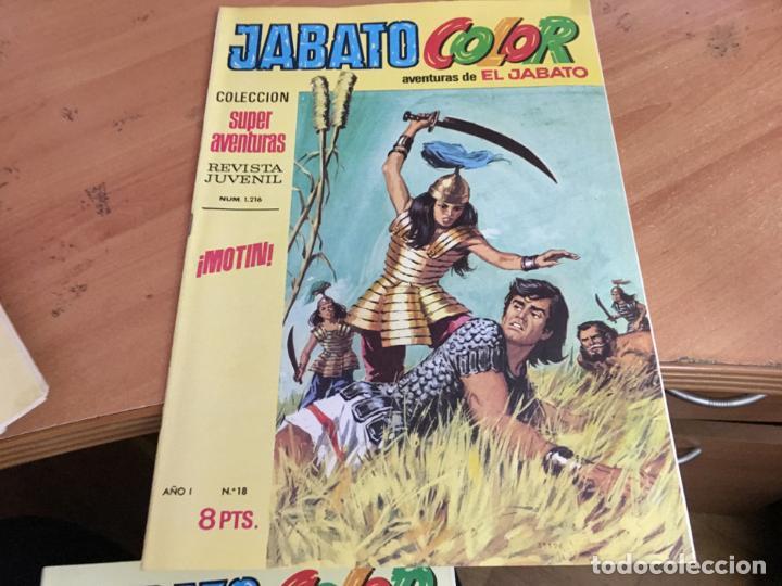 Tebeos: JABATO COLOR PRIMERA EDICION EPOCA LOTE Nº 1 AL 31 . MUY BUEN ESTADO (BRUGUERA) (COIM27) - Foto 15 - 161409306