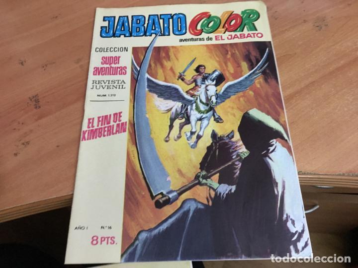 Tebeos: JABATO COLOR PRIMERA EDICION EPOCA LOTE Nº 1 AL 31 . MUY BUEN ESTADO (BRUGUERA) (COIM27) - Foto 17 - 161409306
