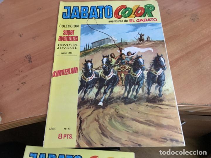 Tebeos: JABATO COLOR PRIMERA EDICION EPOCA LOTE Nº 1 AL 31 . MUY BUEN ESTADO (BRUGUERA) (COIM27) - Foto 20 - 161409306