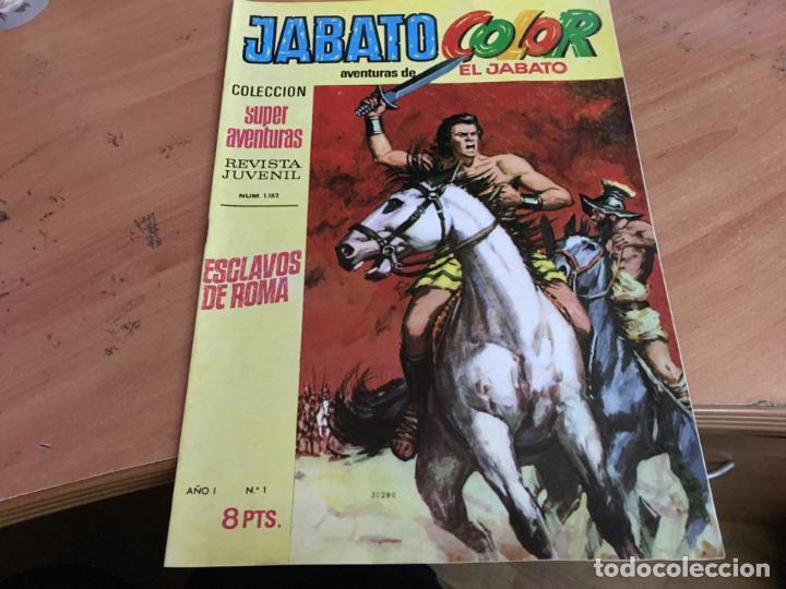 Tebeos: JABATO COLOR PRIMERA EDICION EPOCA LOTE Nº 1 AL 31 . MUY BUEN ESTADO (BRUGUERA) (COIM27) - Foto 33 - 161409306