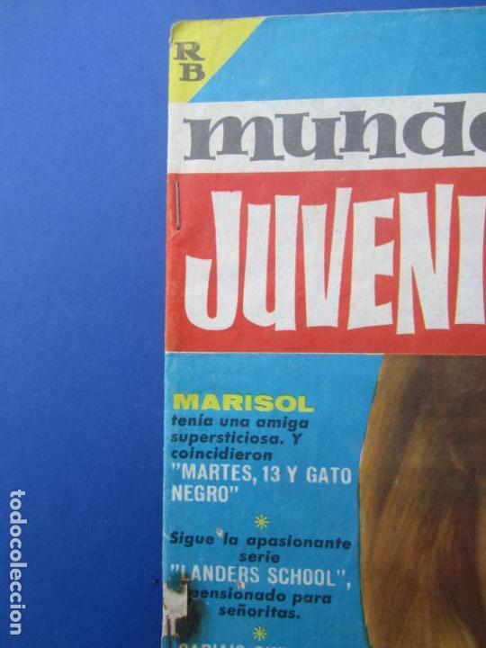 Tebeos: mundo juvenil , numero 11 amigos de marisol , bruguera 1963 - Foto 2 - 161476186