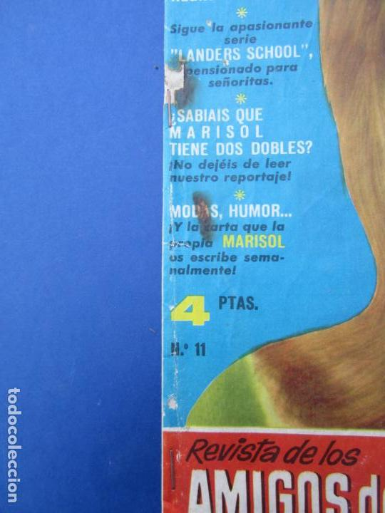 Tebeos: mundo juvenil , numero 11 amigos de marisol , bruguera 1963 - Foto 3 - 161476186