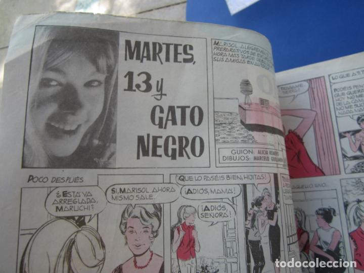Tebeos: mundo juvenil , numero 11 amigos de marisol , bruguera 1963 - Foto 4 - 161476186