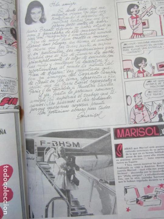 Tebeos: mundo juvenil , numero 11 amigos de marisol , bruguera 1963 - Foto 6 - 161476186