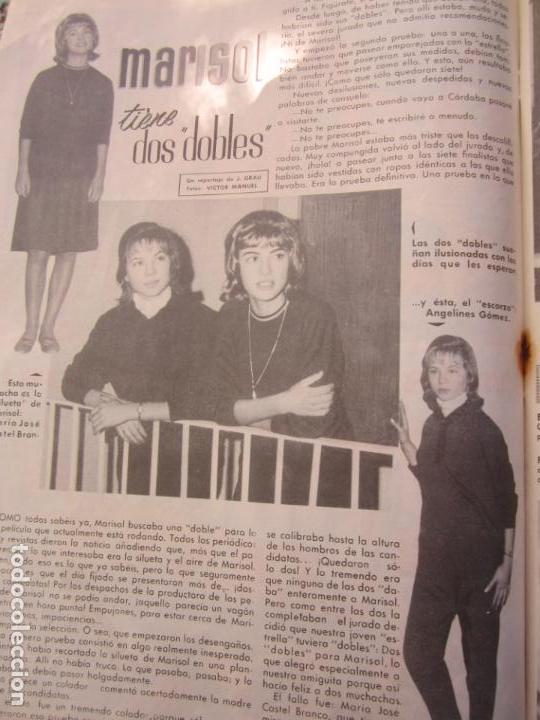 Tebeos: mundo juvenil , numero 11 amigos de marisol , bruguera 1963 - Foto 7 - 161476186