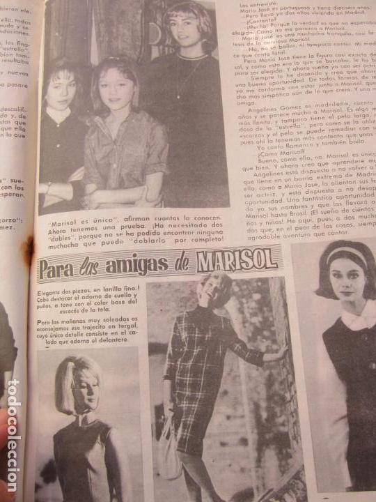 Tebeos: mundo juvenil , numero 11 amigos de marisol , bruguera 1963 - Foto 8 - 161476186