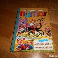 Tebeos: MAGOS DEL HUMOR - VOLUMEN I - 1971 - BRUGUERA - 1ª EDICION AGAMENON DON PIO ROMPETECHOS BUEN ESTADO. Lote 161683306