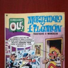 Tebeos: OLÉ! MORTADELO Y FILEMÓN N°140. Lote 161719904