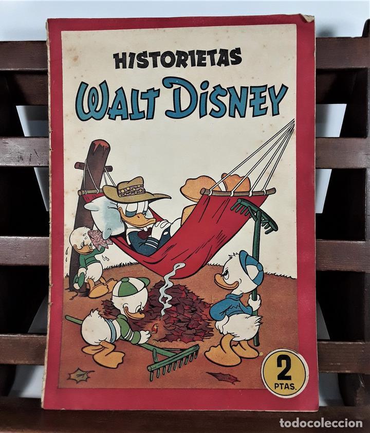 HISTORIETAS WALT DISNEY. EDIT. BRUGUERA. BARCELONA. 1945. (Tebeos y Comics - Bruguera - Otros)