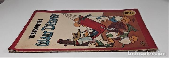 Tebeos: HISTORIETAS WALT DISNEY. EDIT. BRUGUERA. BARCELONA. 1945. - Foto 2 - 161739682