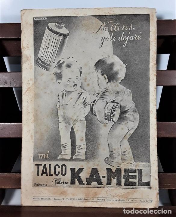 Tebeos: HISTORIETAS WALT DISNEY. EDIT. BRUGUERA. BARCELONA. 1945. - Foto 6 - 161739682