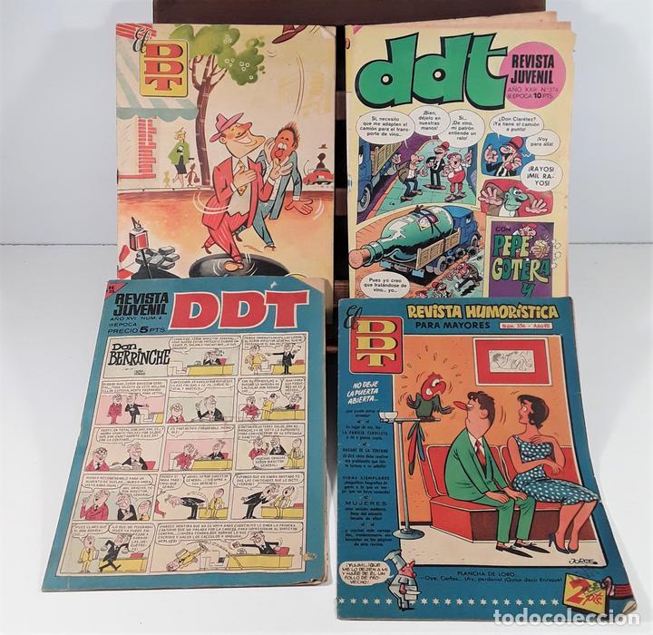 REVISTA JUVENIL DDT. 8 EJEM. EDIT. BRUGUERA. BARCELONA. 1953/1974. (Tebeos y Comics - Bruguera - DDT)