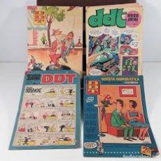 Tebeos: REVISTA JUVENIL DDT. 8 EJEM. EDIT. BRUGUERA. BARCELONA. 1953/1974.. Lote 161746158